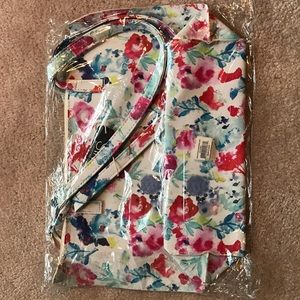 Floral print purse new in bag
